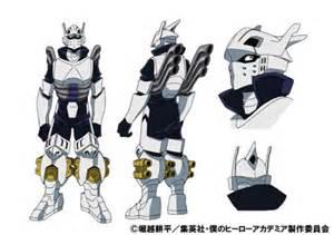 my hero academia character design tenya costume