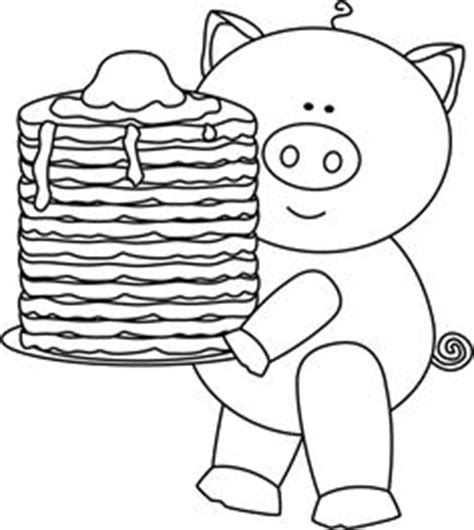 Bowdenisms Little P Big 3 Pin The Pancake On The Pig If You Give A Pig A Coloring Page