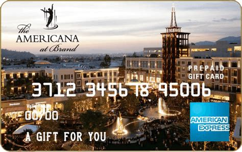 Americana Gift Card - five star concierge services at the americana at brand