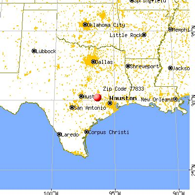 brenham texas map in brenham texas 77833
