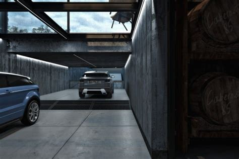 Marvelous Industrial Interior with Exposed Ceiling and