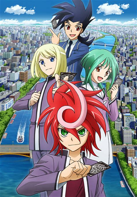 Anime Tv G by Cardfight Vanguard G Tv Anime News Network