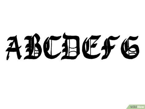 lettere in gotico come scrivere in calligrafia gotica 11 passaggi