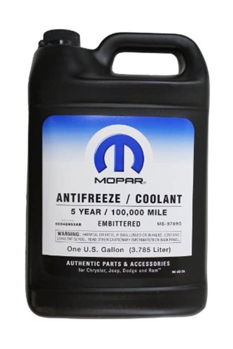 Chrysler Antifreeze Genuine Mopar Fluid 68048953ab Antifreeze Coolant 1
