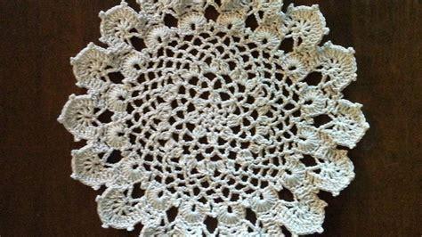 youtube doily pattern crochet doily medium size doily easy pattern youtube
