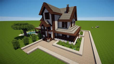 minecraft familienhaus bauen tutorial haus  youtube