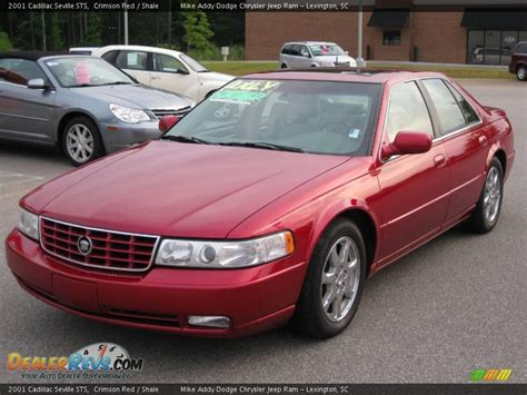 Cadillac Sts 2001 by 2001 Cadillac Seville Sts Crimson Shale Photo 1