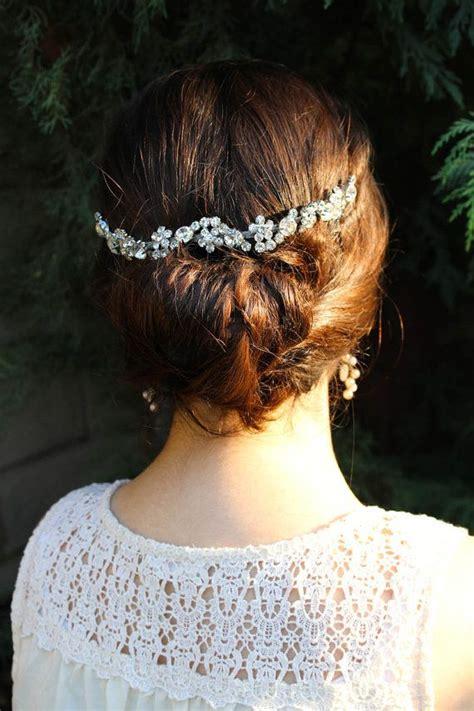 how to wrap wedding hair wedding hair chain bridal hair chain wedding hair wrap