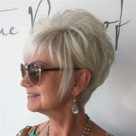 Pixie Hairstyles For 50 With Glasses by 90 And Simple Hairstyles For 50