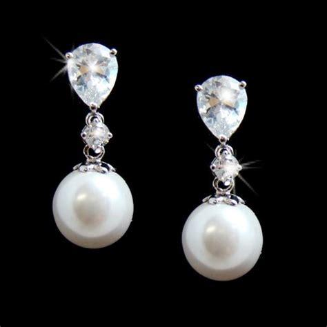 pearl drop earrings studs sarees villa