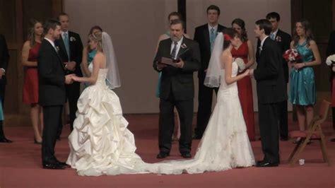 Bradley / Erber / Sumpter   Double Wedding   YouTube