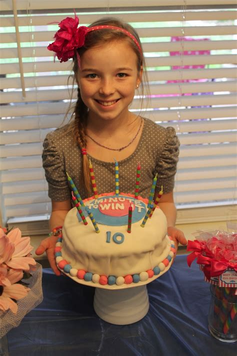 party themes 10 year olds blair s blessings 10 year old minute to win it birthday party