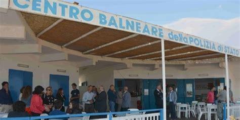 ufficio provinciale lavoro ragusa inaugurato il lido della polizia di stato di caucana