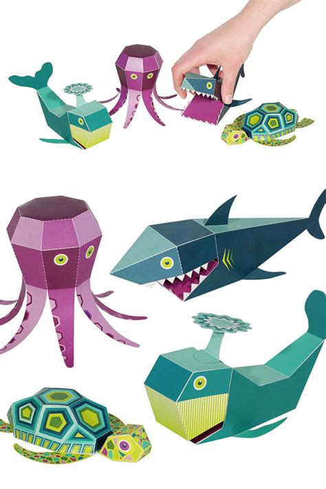 How To Make Sea Animals Out Of Paper - welcome to etsy wholesale