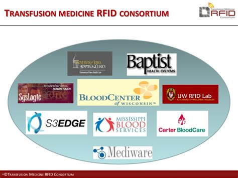 Uwl System Mba Consortium by Auto Id In The Blood Supply Chain