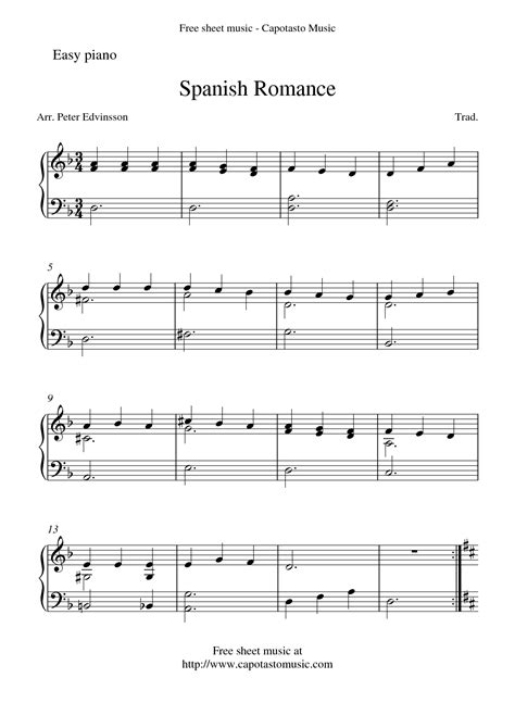 easy sheet music for piano for popular songs images