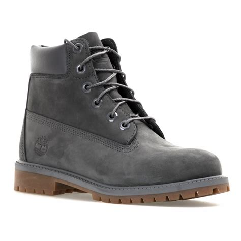 gray timberland boots timberland timberland 6 inch classic boots grey