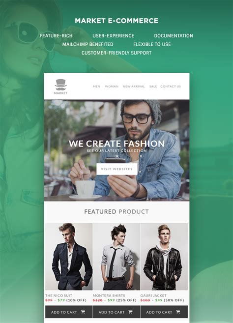 e commerce templates market e commerce newsletter template buy premium market