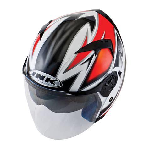 Helm Ink Enzo White Helm Ink Enzo Seri 2 Pabrikhelm Jual Helm Murah