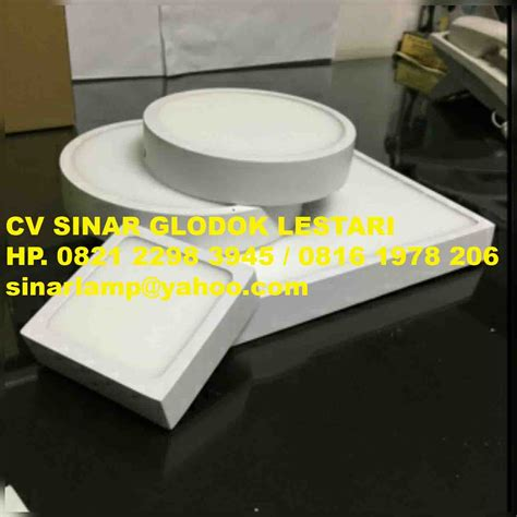 Led Panel Downlight 6w Bulat Terang Vosco Vcp 006 Daylight downlight led outbow bulat dan kotak
