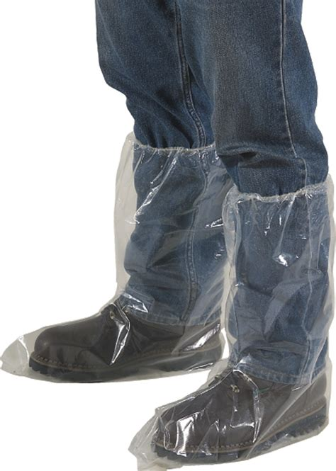 Shoe Plastic Cover waterproof plastic boot covers clear shoe covers