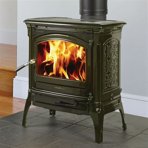 Soapstone Fireplace Insert by Craftsbury 8391 Wood Stove With With Basil Majolica Enamel