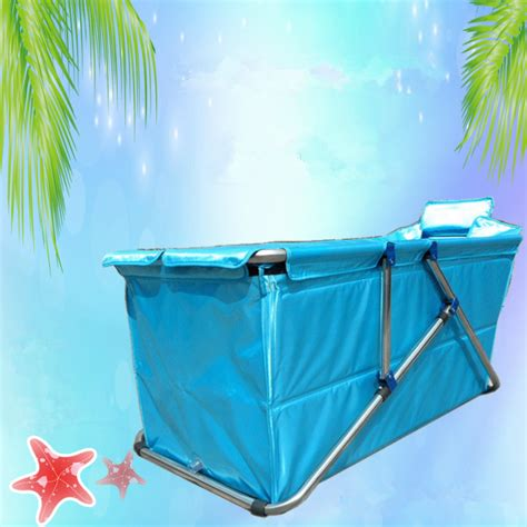 aliexpress com buy adult spa folding bathtub inflatable