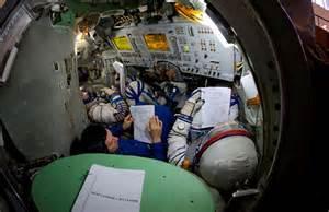 soyuz spacecraft interior pics about space