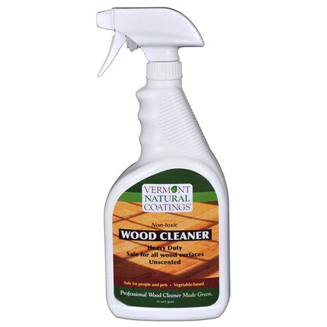 Non Toxic Floor Cleaner by Vermont Coatings Non Toxic Wood Cleaner