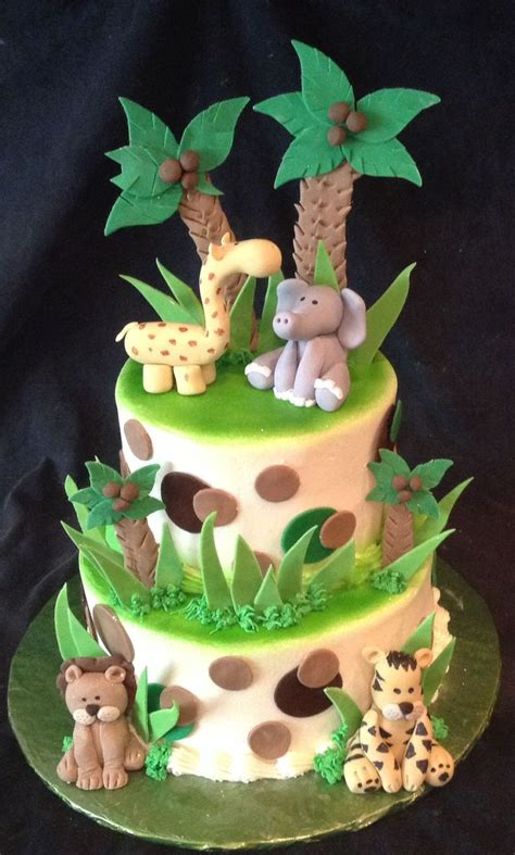 Jungle Theme Baby Shower Cakes by Jungle Theme Baby Shower Cake Babyshower Ideas Gifts