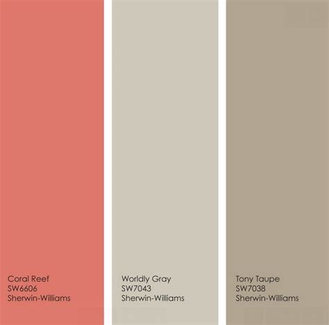 colors that go with taupe 25 best ideas about coral paint colors on