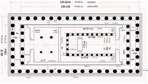 Floor Plan Of Parthenon The Gallery For Gt Parthenon Plan