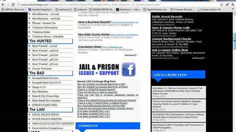 Miami Dade Inmate Search Miami Dade County Miami Inmates