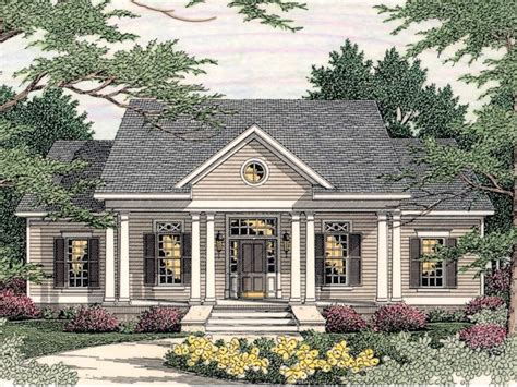 Colonial Houseplans by Small Southern Colonial House Plans Colonial Style Homes