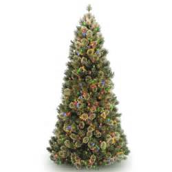 prelit artificial christmas trees 7 5 grand cashmere