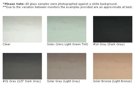 window tint colors
