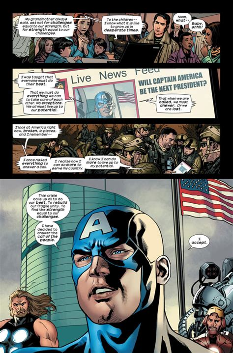 are domestic robots closer than we think techrony captain america becomes president america in this stunt
