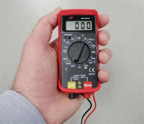 Multimeter Digital Mini atd 5544 digital mini multimeter atd tools inc