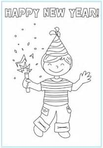New year coloring pages picture 7 printable happy new years