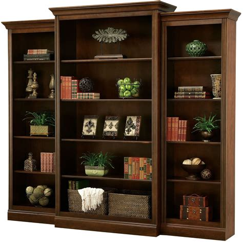 Bookcase Set Oxford 85 Quot Cherry Bookcase Set From Howard Miller
