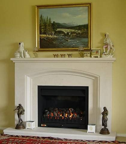 Classical Fireplace by Classical Radius Arch Style Surround Carved In