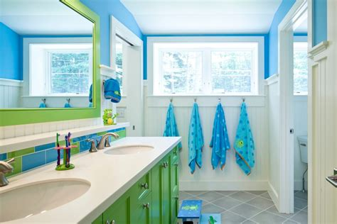 blue and green bathroom accessories 100 kid s bathroom ideas themes and accessories photos