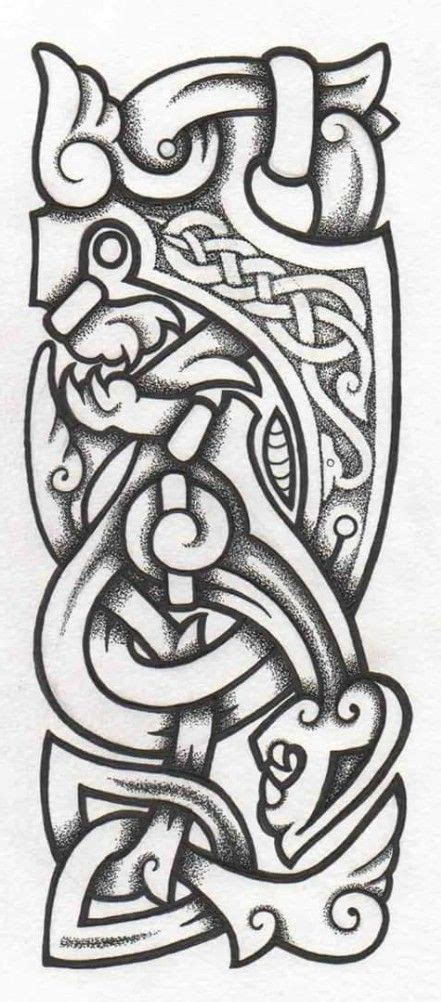 7 beautiful norse tribal tattoos 122 best celts images on ideas middle