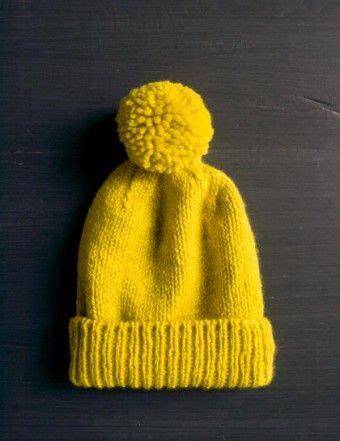 diy knit beanie diy classic cuffed hat free knitting pattern tutorial