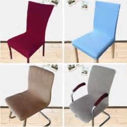 Elasticated Dining Chair Seat Covers 22 Styles Elastic Office Chair Cover Brief Dining Chair Seat Cover More Color Polyester Housse