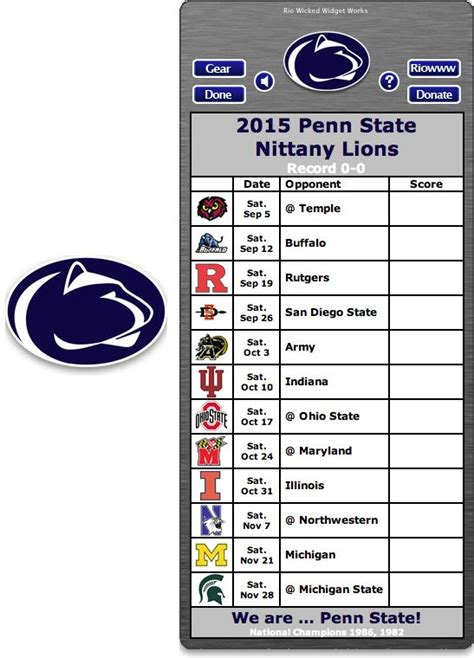dates and deadlines to apply to penn state undergraduate 17 best images about free college football schedule