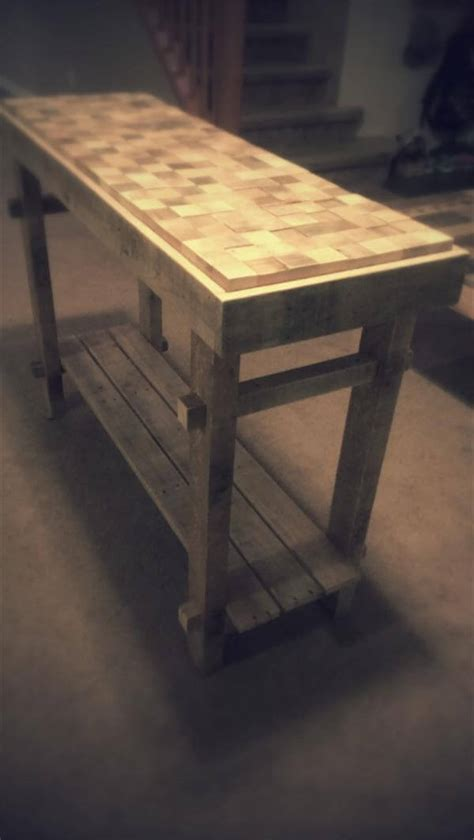 Pallet Console Table Diy Pallet Country Cottage Console Table Pallet Furniture Diy