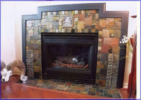tile around fireplace ideas 1000 ideas about tile around fireplace on