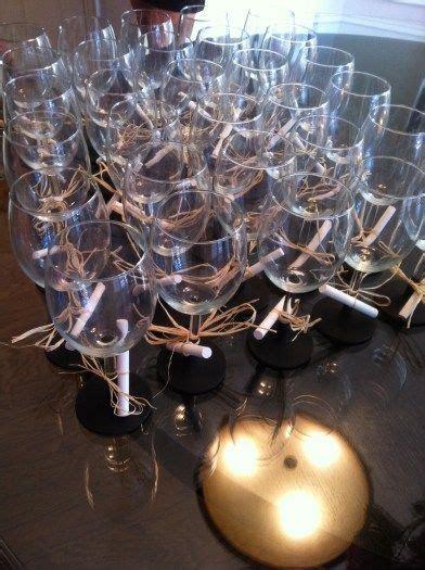 diy chalk paint wine glasses diy chalkboard wine glasses favors ideas