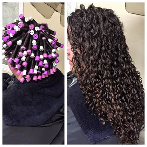 image result for stacked spiral perm on short hair hair the 25 best spiral perm rods ideas on pinterest hair